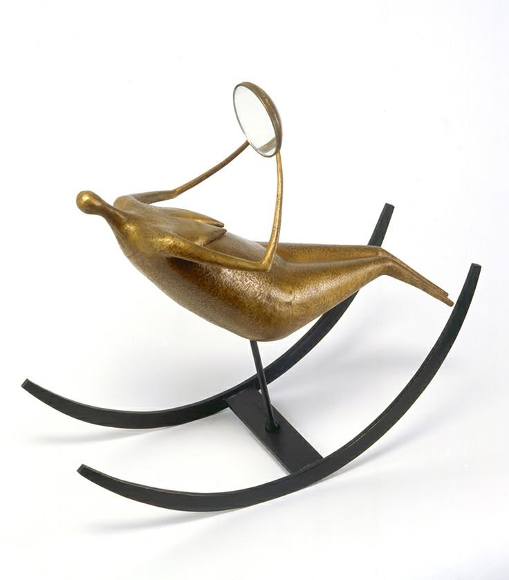 Philippe Hiquily rocking chair