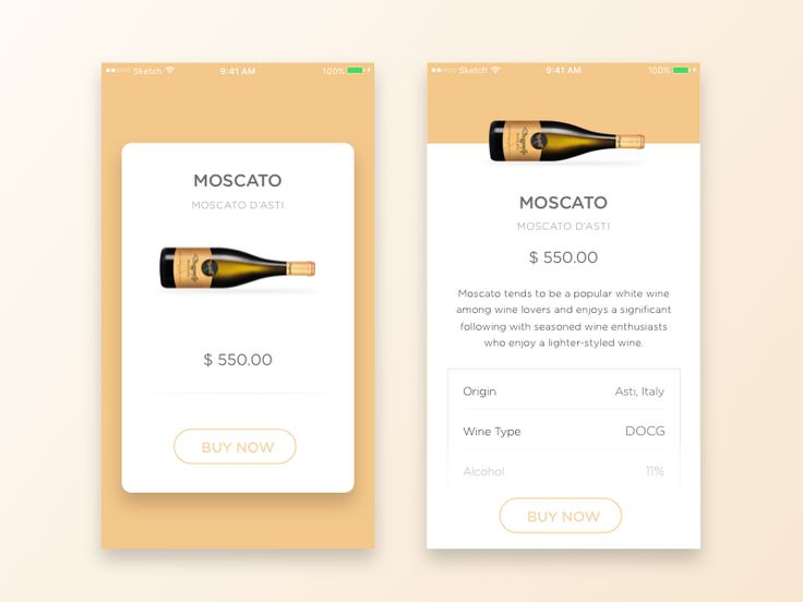 Product Card & Details