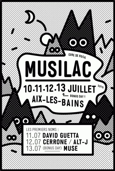 Musilac 2015, Aix-les-Bains I will be there ! Hopefully