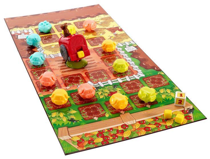 Mattel Go Piggy Go - Little Pigs Game (Y2552)  Manufacturer: Mattel Barcode: 746775202279 Enarxis Code: 015821 #toys #Mattel #boardgames #piggy