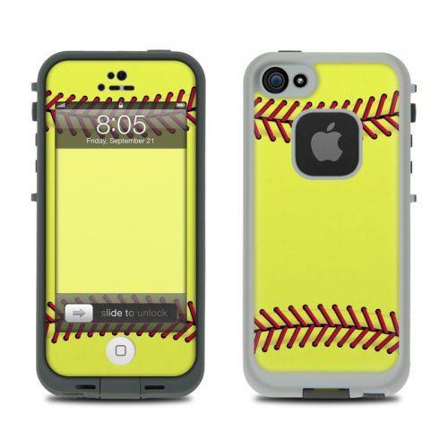 Softball LifeProof iPhone 5 Skin