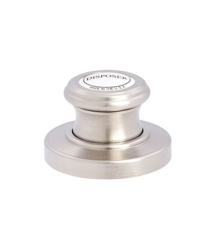Waterstone 4010  Garbage disposal air switch. Looks beautiful & retro in polished nickel.