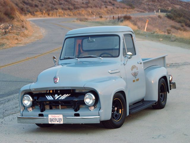 73 best 1950s ford trucks images on pinterest classic trucks old 1954 ford going fast publicscrutiny Image collections