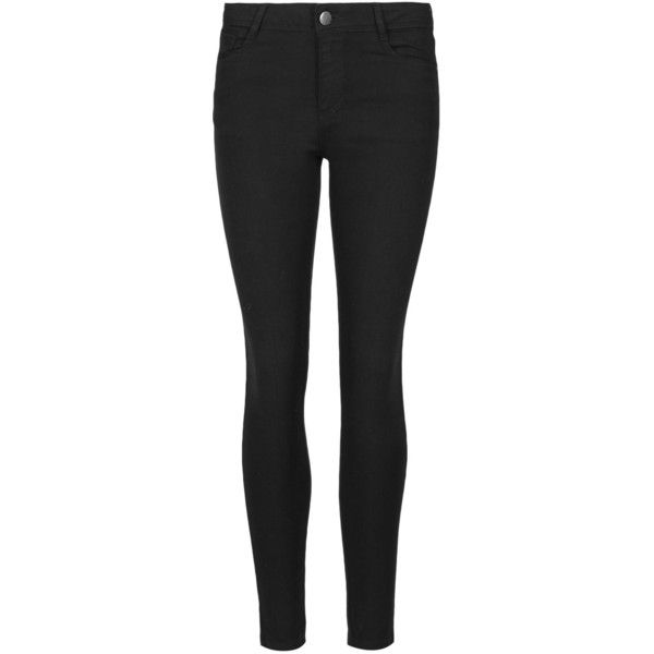 Indigo Collection Denim Jeggings ($26) ❤ liked on Polyvore featuring pants, leggings, bottoms, black, black jeggings, black pants, denim jeggings, denim leggings and zipper leggings