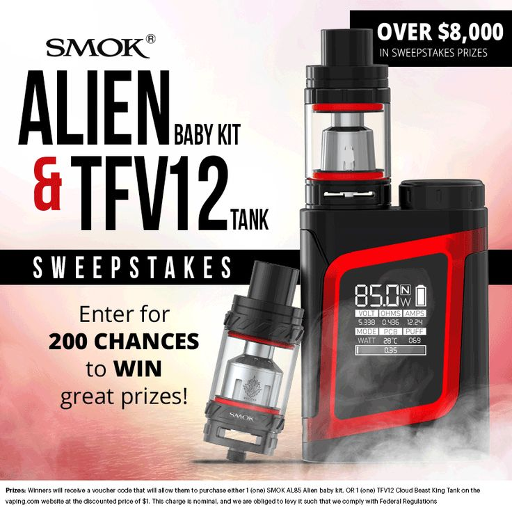 Win! $8000 of SMOK prizes up for grabs!