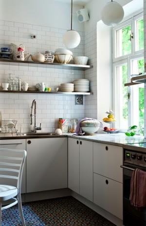 minmal kitchen space