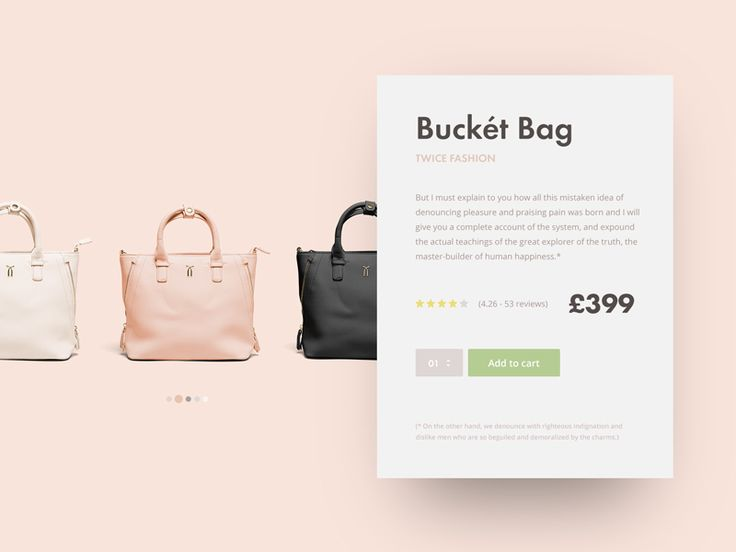 Dribbble - Day #002 // Product Card by Marcus Hofer