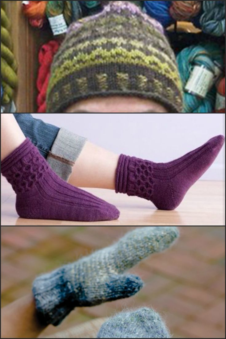 Knitting Mittens With Magic Loop : Best images about magic loop knitting on pinterest