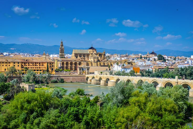 Mosque–Cathedral and Roman Bridge of Cordoba Spain