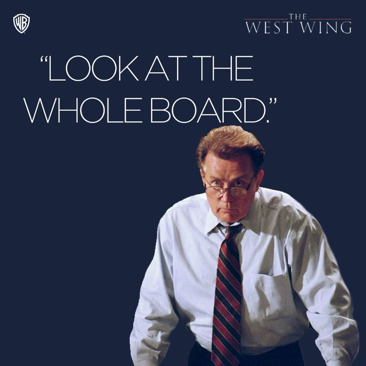 Bartlet quotes, The West Wing, copyright to Warner Bros