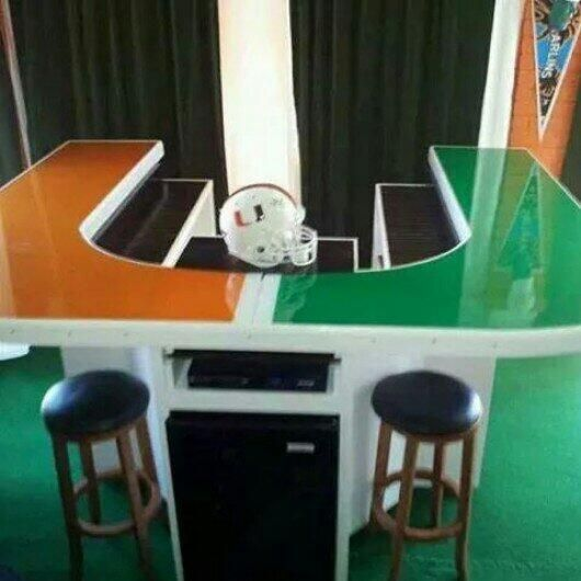 Miami Hurricanes Bar