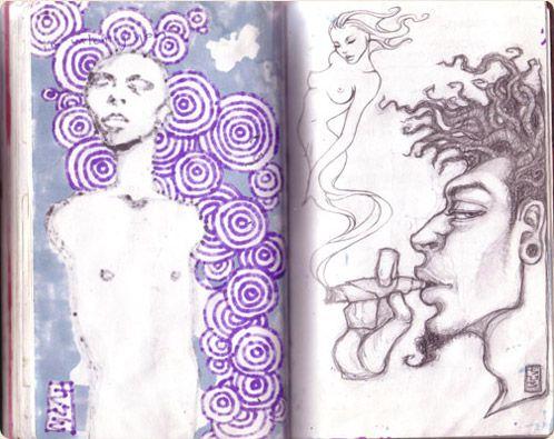 sketchbook: audrey kawasaki