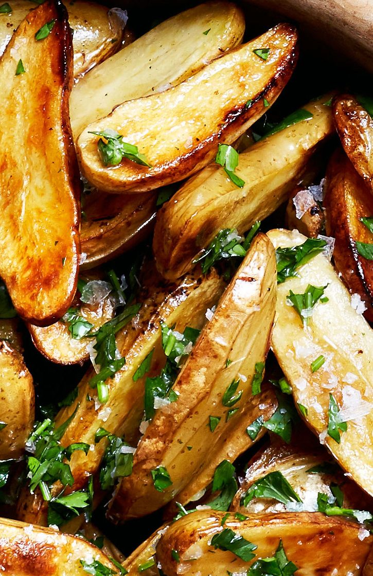 Lemon and parsley roasted potatoes recipe: Put this one on heavy rotation.