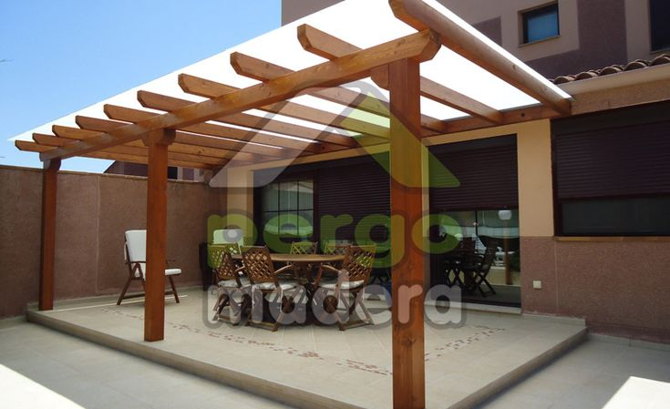 Best 25 pergola madera ideas on pinterest pergolas de - Pergolas para patios ...