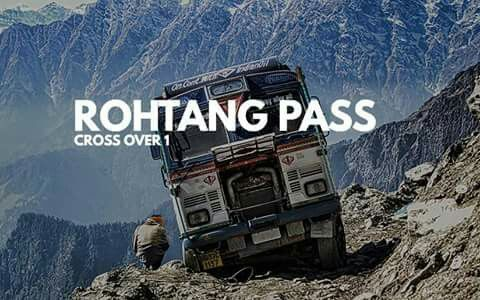 Rohtang Pass, is a high mountain pass on the eastern Pir Panjal Range of the Himalayas around 51 km from Manali. It connects the Kullu Valley with the Lahaul and Spiti Valleys of Himachal Pradesh, India.