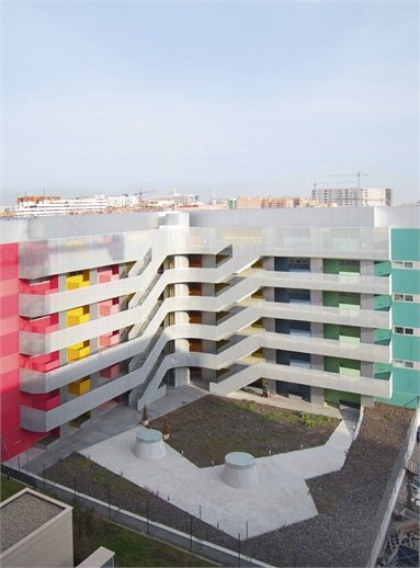 41 social dwellings ein Vallecas Madrid, Madrid, 2010