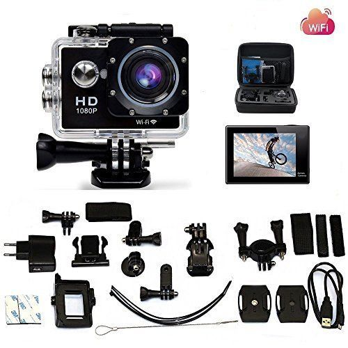Camera Hd 1080p Action Sports Waterproof Angle Camcorder Wifi 170°Wide Ultra 4k  #Legazone