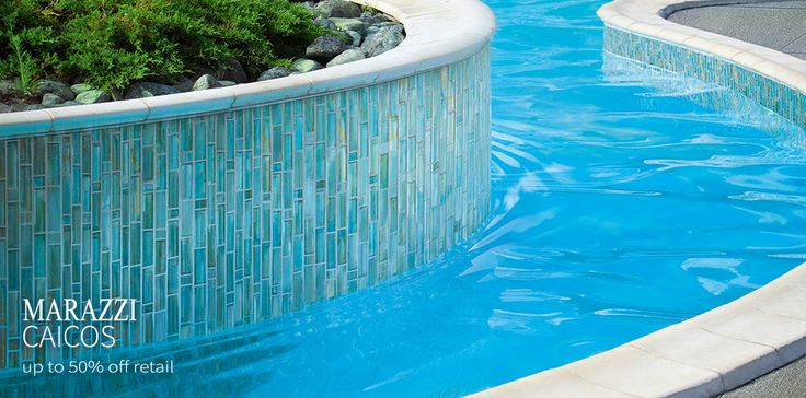 Pool tiles glass pool and pools on pinterest for Swimming pool tile pictures