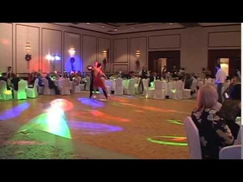 Gatsby Style Inline Figure Skating Performance
