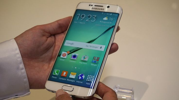 All the leaks had pointed to a unique phone with a curved screen on both sides of the device, and that's exactly what Samsung delivered on Sunday when it launched the new Galaxy S6 smartphone and its curvier cousin, the Galaxy S6 Edge.