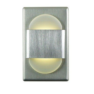 Alico Industries WLE105DR32K-10-98 EZ LED Step Light Brushed Aluminum Finished Trim  sc 1 st  Pinterest & Best 25+ Led step lights ideas on Pinterest | Glass cylinder vases ... azcodes.com