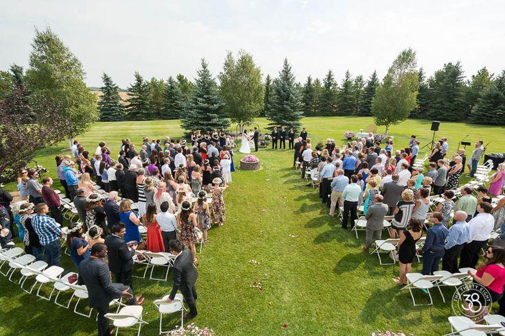 Sylvan Lake Wedding Shot by The 38 Photography