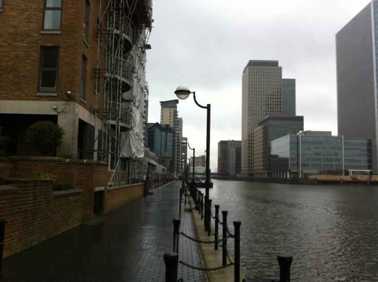 Canary Wharf, London 2013