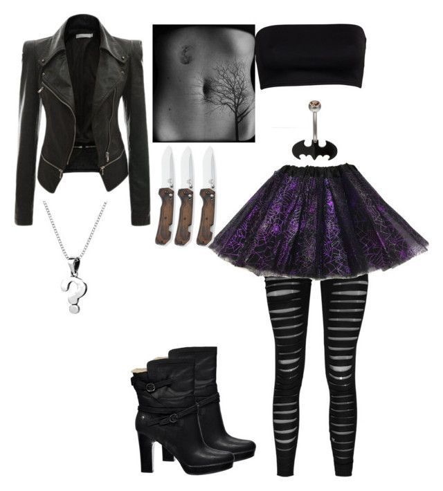 """""""mystery: mysterions partner in crime"""" by laughing-jack5 ❤ liked on Polyvore featuring Boohoo, UGG Australia and AeraVida"""