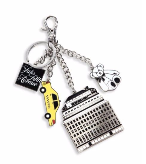 Saks Fifth Avenue Collection - Store Front Keychain