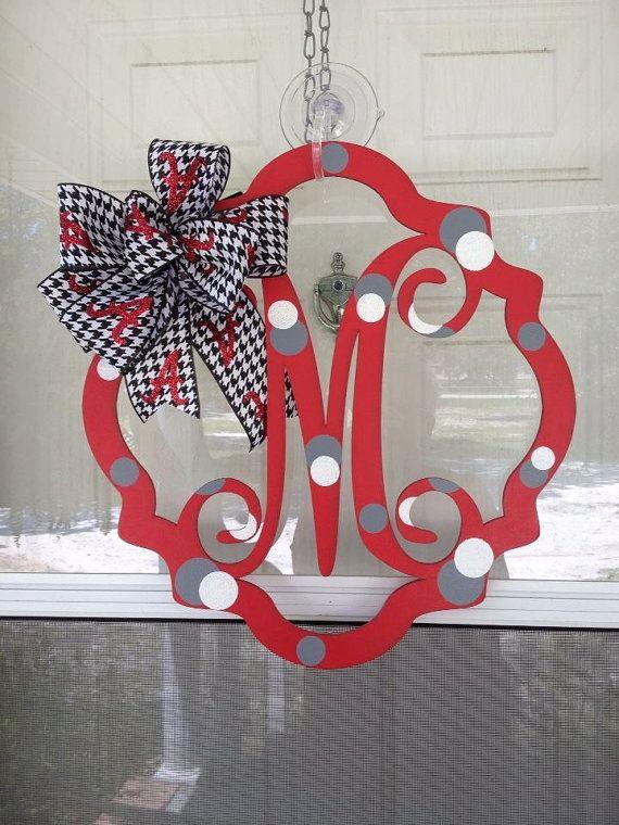 Alabama Door Hanger by Barbarasdoordecors on Etsy