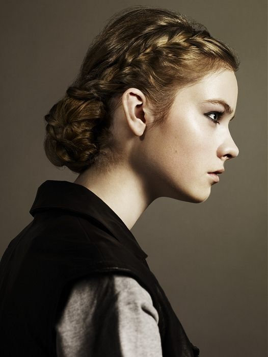simple braided updos for long hair | Braided Updo Hair Styles