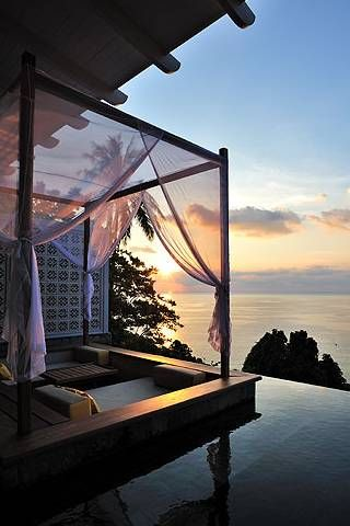 Set in a secluded cove on the southern tip of Phuket, The Shore is everything you'd want for a tropical 'I do'. Think: beachfront suites and pool-view villas, and a private wedding terrace hidden in tropical gardens overlooking the lapping waves - not to mention the beautiful golden stretch of Kata Noi Bay.    GUEST LISTUp to 120 THE BILLFrom £1,160 LICENCE?Legal registration is available at a cost CONTACT+66 07633 0124; katathani.com