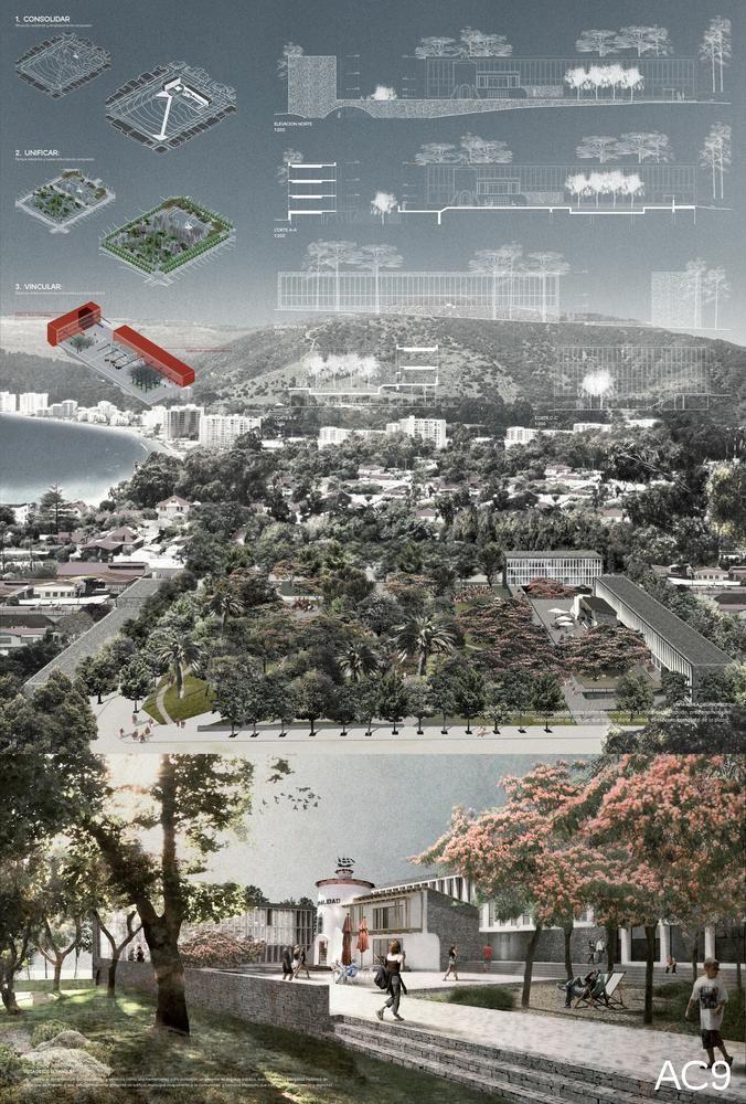 Galería - Duque Motta + Livingstone + Jadue, segunda mención en concurso Edificio Consistorial de Papudo - 7