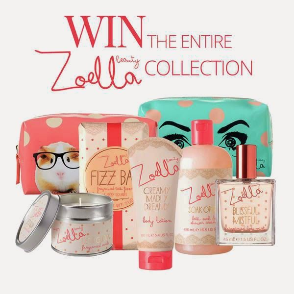 WIN: ZOELLA BEAUTY COLLECTION - Enter here: http://www.girlorb.com/2014/10/zoella-beauty-collection-giveaway-haul-win.html