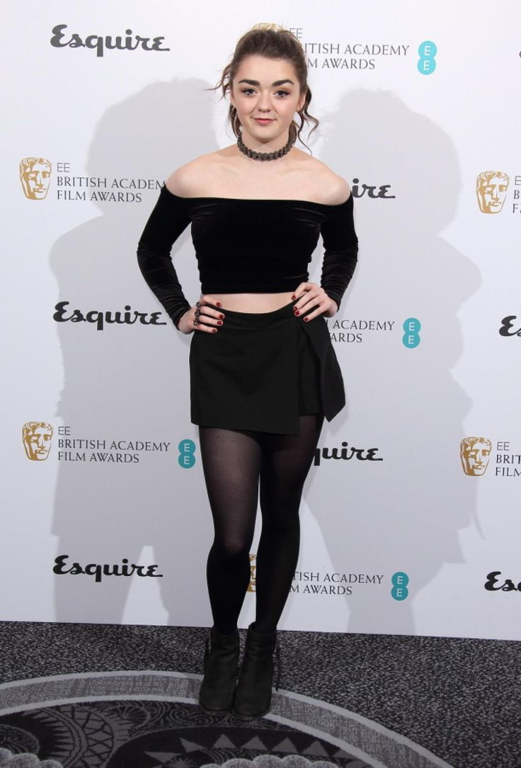 No clowning around: Maisie Williams looked chic at the EE and Esquire BAFTA party in London on Feb. 12, 2014.
