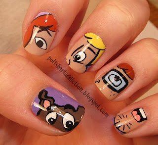 Scooby Doo Nails.  Where do you get these?