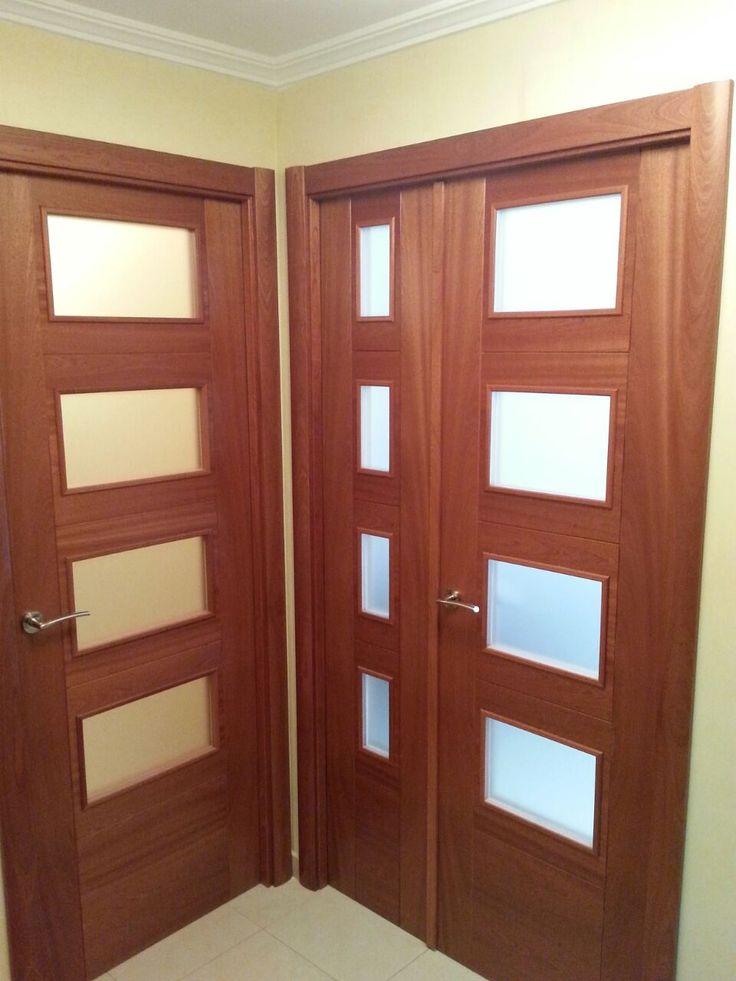 75 o m s mejores im genes de puertas salamanca en puertas for Cristales para puertas de madera