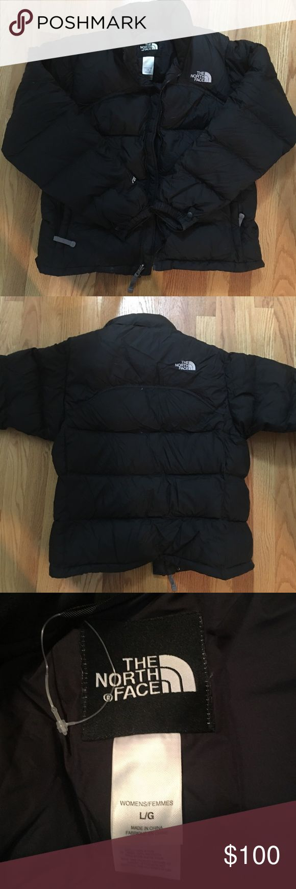 The North Face 700 Nuptse Puffer Jacket Women's L Black North Face Nuptse jacket in like new condition. Super warm and barely worn!! Open to reasonable offers made via the offer button. 😊 The North Face Jackets & Coats Puffers