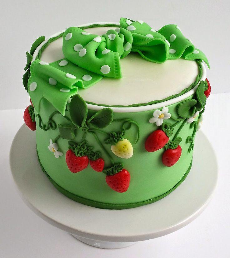 Kuchen-Blog: Erdbeerkuchen mit Tutorial Rezept für Hausgemachte Erdbeerfüllung