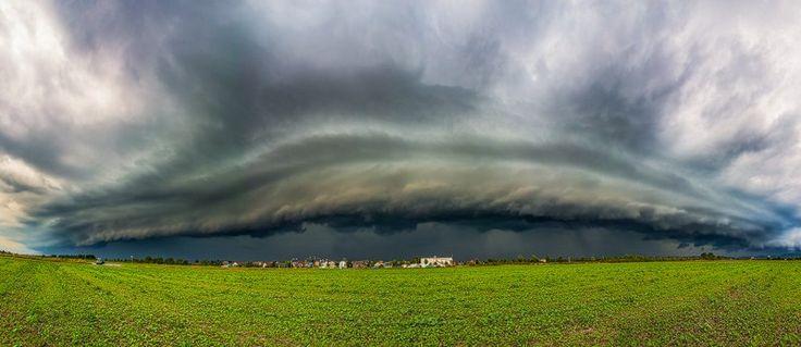 Stormchasing, Gewitterjagd und Unwetter in Deutschland - Wetterfotografie