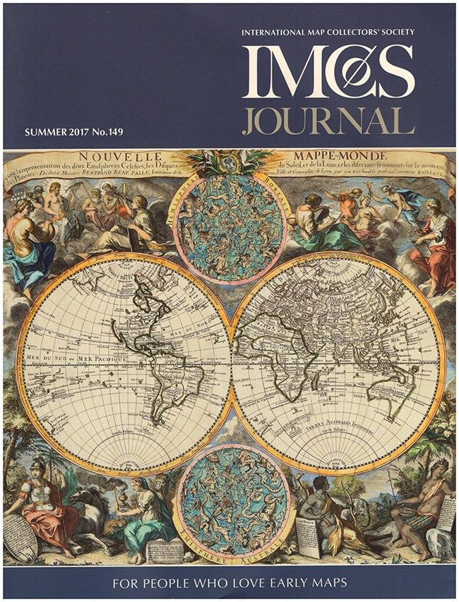 IMCOS: Journal of the International Map Collectors' Society (IMCoS, Summer 2017, No. 149)