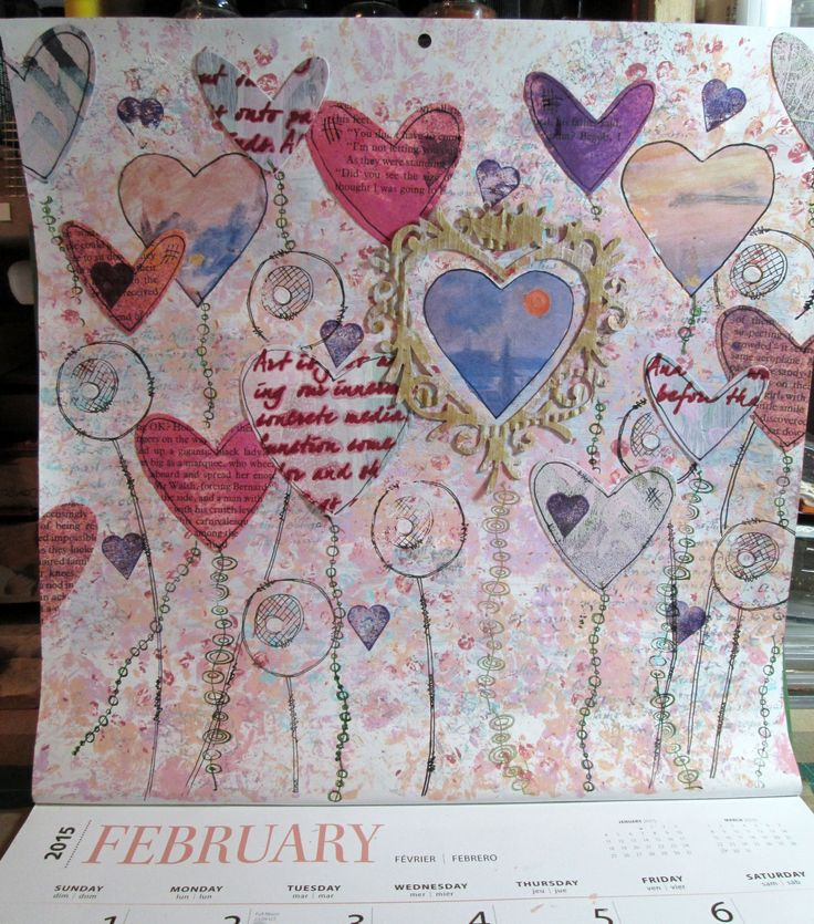 February 2015 - for Darcy's challenge at Art and Sole