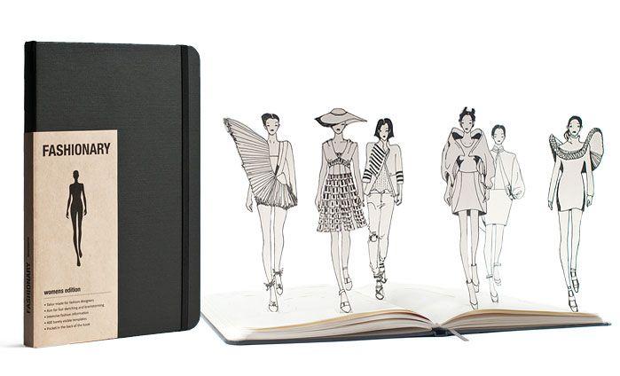 Combineer fashion + woordenboek + diairy en je hebt onze favoriet: Fashionary. Het werkboek voor modeliefhebbers en professionals.Dit boekje bevat maattabellen, wassymbolen en de basis voor snelle modeschetsen. Gebruik de sjablonen voor het tekenen van modefiguren en het maken van productietekeningen van je. Verzamel zo al jouw zelfmaak mode inspiratie in één boekje.De sjablonen van de getekende figuren kun je ook downloaden op de site!www.fashionary.org