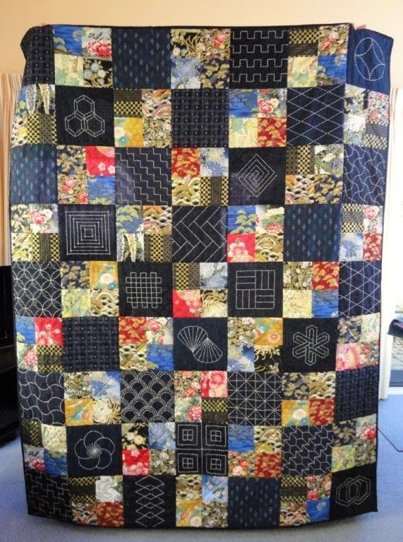 Sashiko Quilt Hand Quilting Pinterest Beautiful