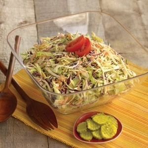 Backyard BBQ Coleslaw Recipe | Cold appetizers | Hannaford
