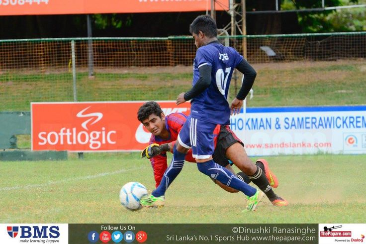 St.Joseph's College Maradana maintained their hundred percent record in this year's competition after comfortably beating St.Benedict's College 2-0, in a Kotmale Chox U19 Schools Football Championship group match worked off at CR & FC grounds.