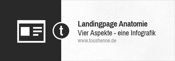 Die Anatomie einer perfekten Landing Page (Infografik)