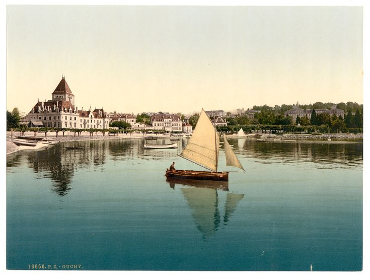 Port d'Ouchy, Lausanne (VD) / Library of Congress