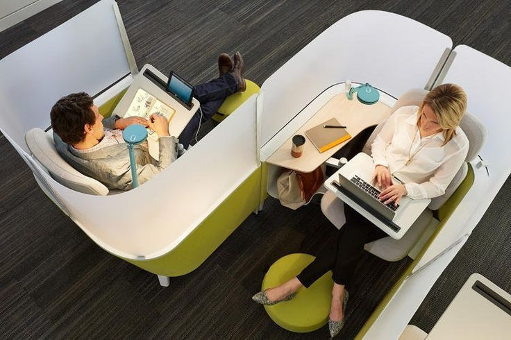 Distracted at the Office? Steelcase Has a Solution — Design News