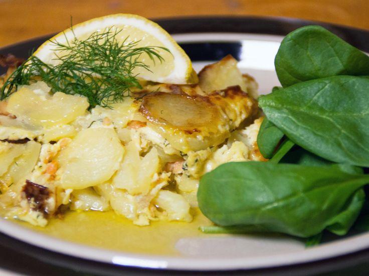 Laxpudding med finsk twist | Recept från Köket.se